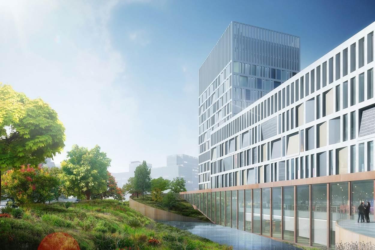 Den haag nieuwbouw eurojust vastgoed rijksvastgoedbedrijf for Nieuwbouw den haag