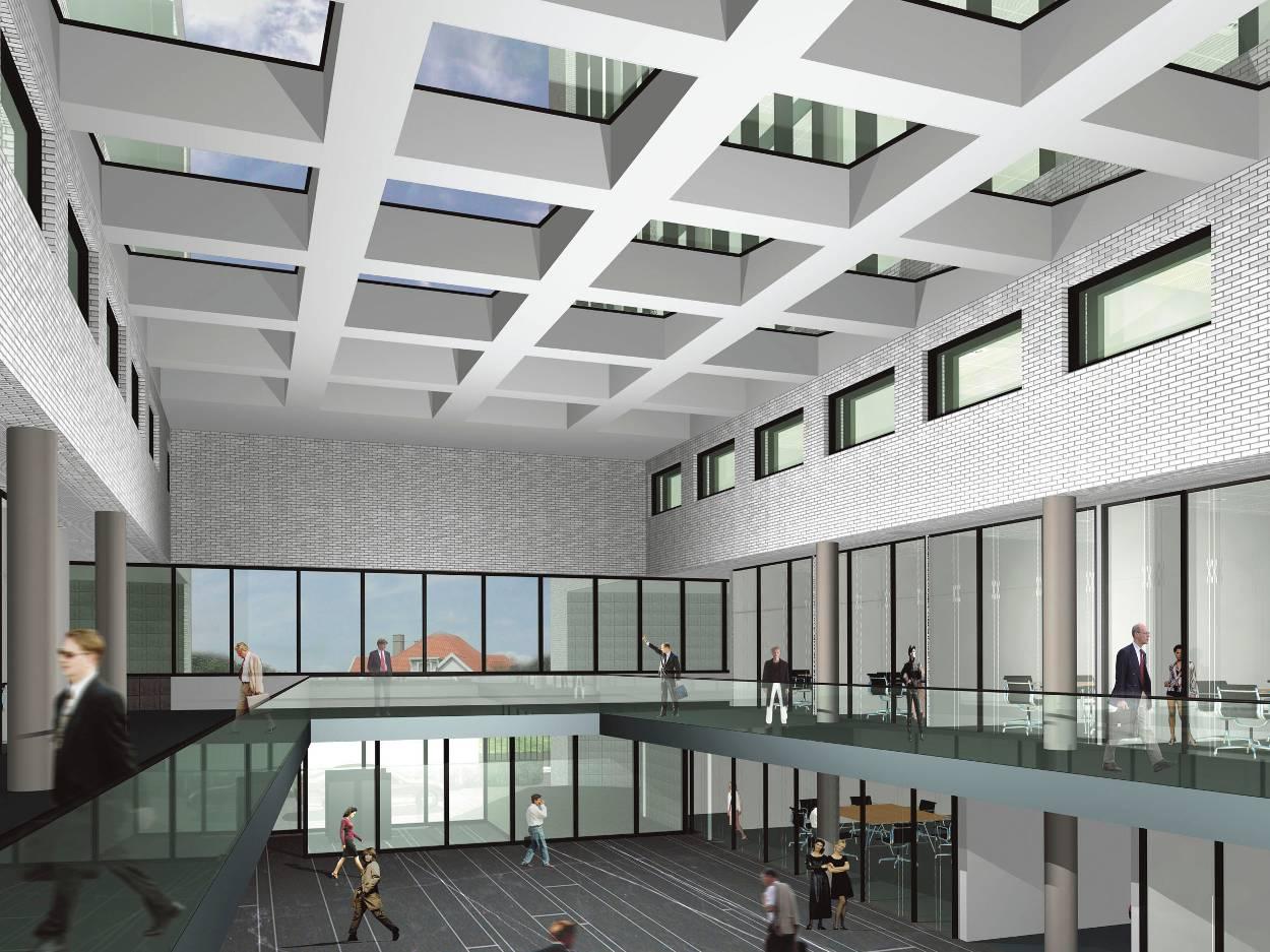 Den haag nieuwbouw hoofdkantoor europol vastgoed for Loft interieur den haag
