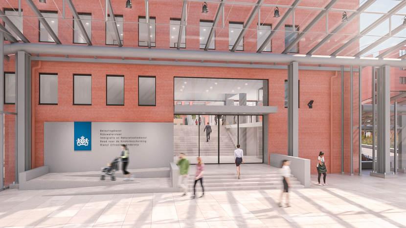 Belastingdienst Kantoor Rotterdam : Nieuwe kantoorinrichting voor belastingdienst duurzaam
